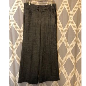 NWT Express Editor Wide Leg Tweed Pants